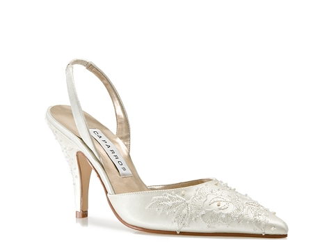 Pantofi Caparros - Votive Slingback Sandal - Ivory