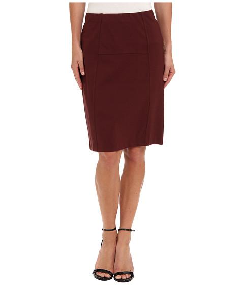 Fuste NIC+ZOE - New Ponte Flirt Skirt - Cognac