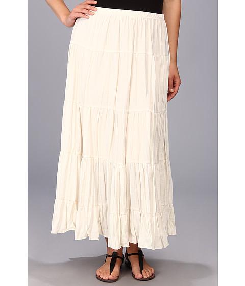 Fuste Karen Kane - Plus Size Lined Tiered Skirt - Cream