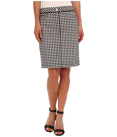 Fuste Jones New York - Jean Pencil Skirt - Black/White