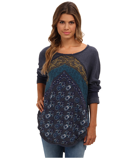 Bluze Free People - Del Rey Pullover - Midnight Combo
