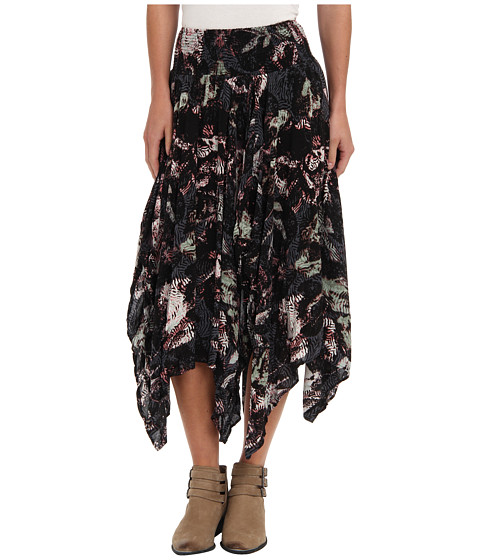 Fuste Free People - Fly Away Skirt - Black Combo