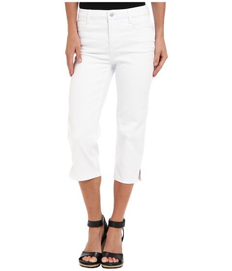 Pantaloni Jones New York - Soho Super Crop w/ Slit - White