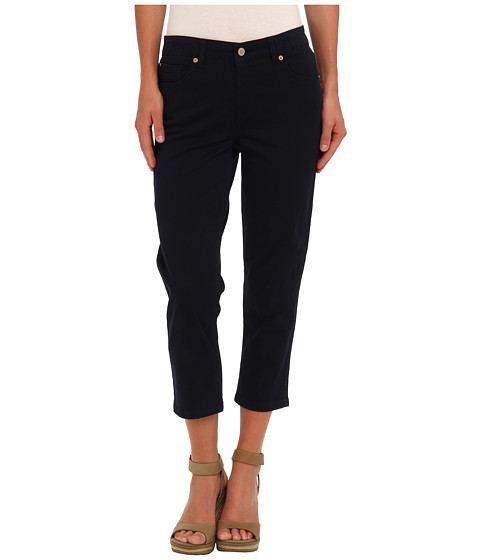 Pantaloni Jones New York - Soho Super Stretch Capri - Navy