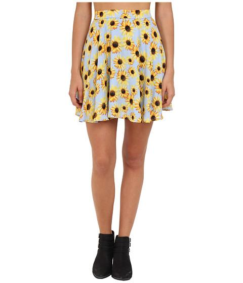 Fuste Gabriella Rocha - Flower Power Skater Skirt - Sunflower