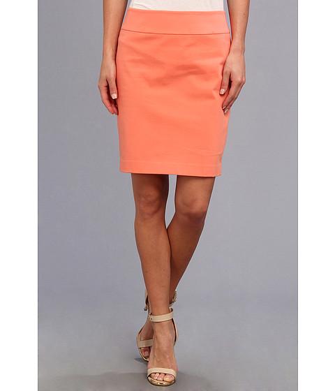 Fuste Christin Michaels - Darla Pencil Skirt - Coral