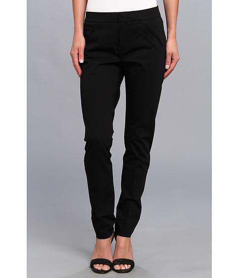 Pantaloni Christin Michaels - Ankle Pant with Angle Slit Pockets - Black