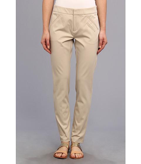 Pantaloni Christin Michaels - Ankle Pant with Angle Slit Pockets - Desert