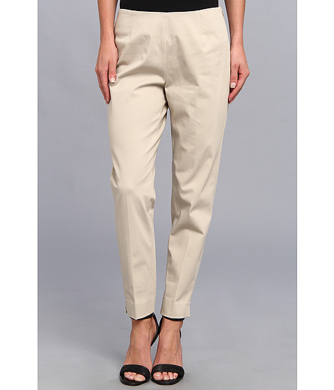 Pantaloni Christin Michaels - Carren Cropped Side-Zip Pant - Desert