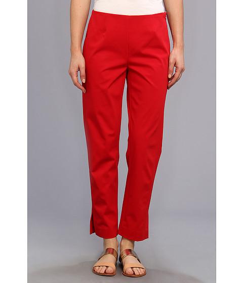 Pantaloni Christin Michaels - Carren Cropped Side-Zip Pant - Lipstick