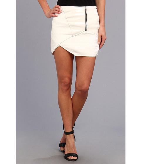 Fuste Brigitte Bailey - Bold Enamel Skirt - White