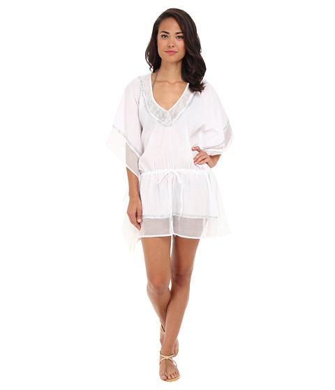 Costume de baie La Blanca - Global Chic Embellished Caftan - White