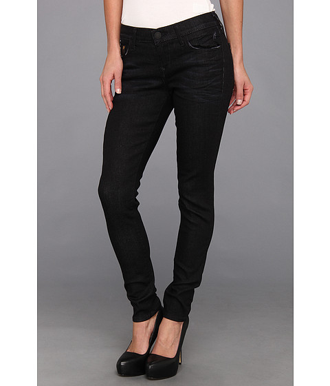 Blugi True Religion - Casey Super Skinny in Black Smoke - Black Smoke Vintage