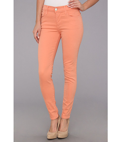Blugi True Religion - Chrissy Mid-Rise Super Skinny Still Valley - Tawny Orange