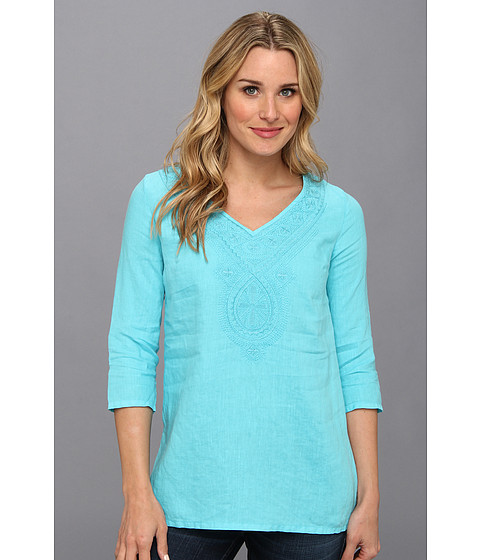 Bluze Tommy Bahama - Two Palms Medallion Tunic - Clear Ocean