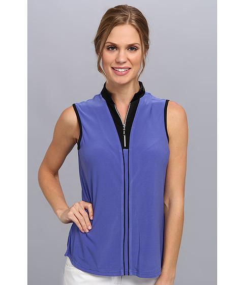 Bluze DKNY - Sylvia Sleeveless Top - Bahama Blue
