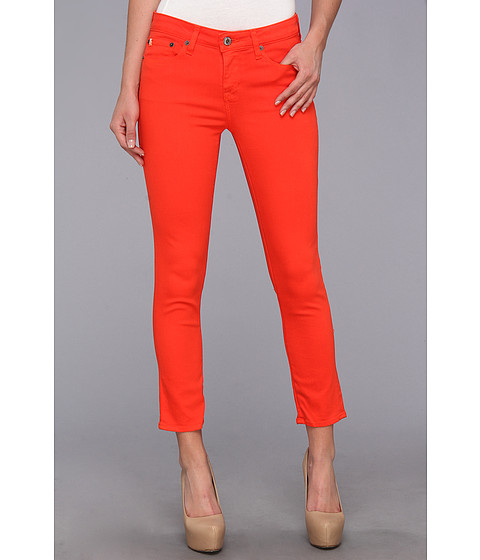 Blugi Big Star - Alex Mid Rise Skinny Crop Jean in Coral - Coral