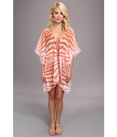 Costume de baie Echo Design - African Zig Zag Tie Butterfly Cover-Up - Hot Pink