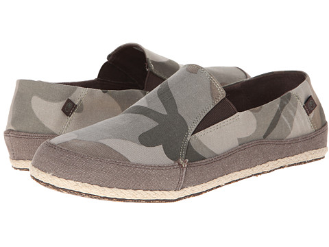 Adidasi Crocs - Espadrilla Washed Slip On - Camo/Espresso