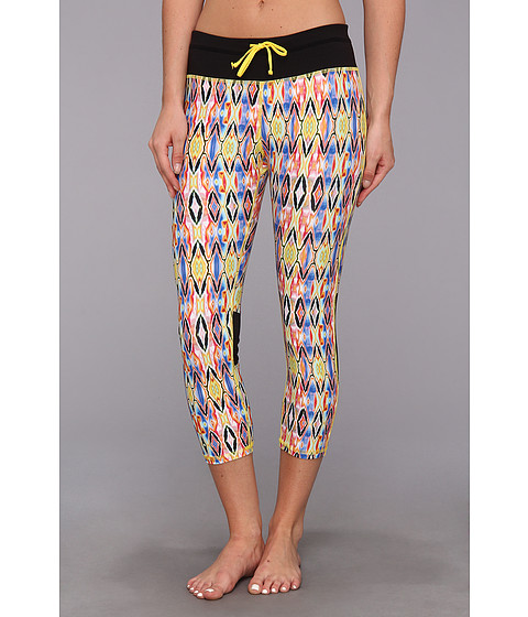 Pantaloni C&C California - Printed Velocity Tight - Buttercup (Tribal Ikat Print)