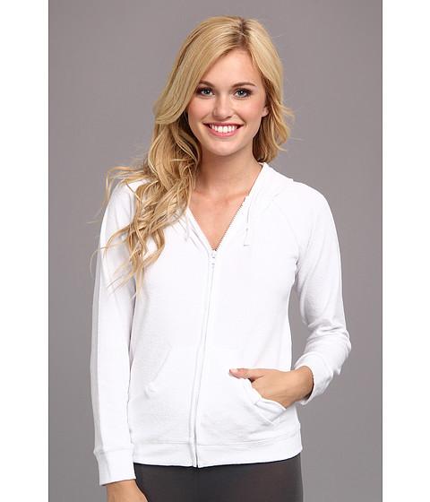 Bluze Betsey Johnson - Bridal Mrs. Baby Terry Zip Hoodie 736722 - White