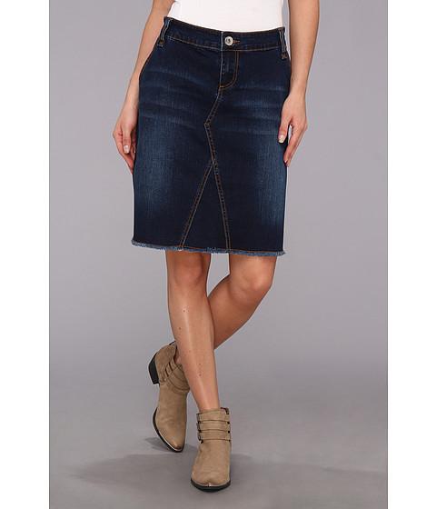 Fuste Stetson - Denim Skirt w/ Light Sandind - Blue
