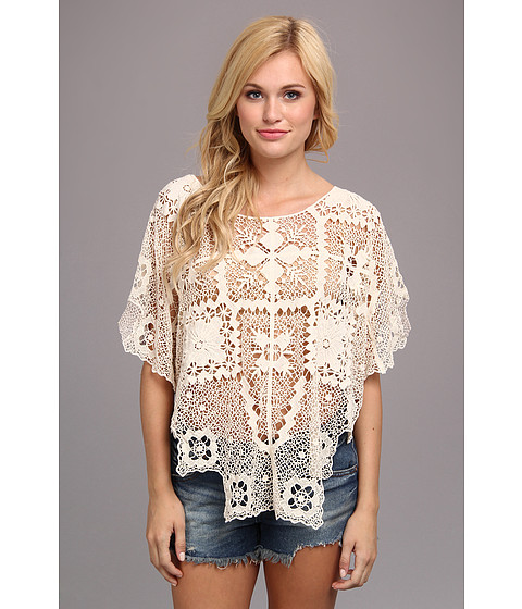 Bluze Free People - Bad Romance Sweater - Ivory Combo