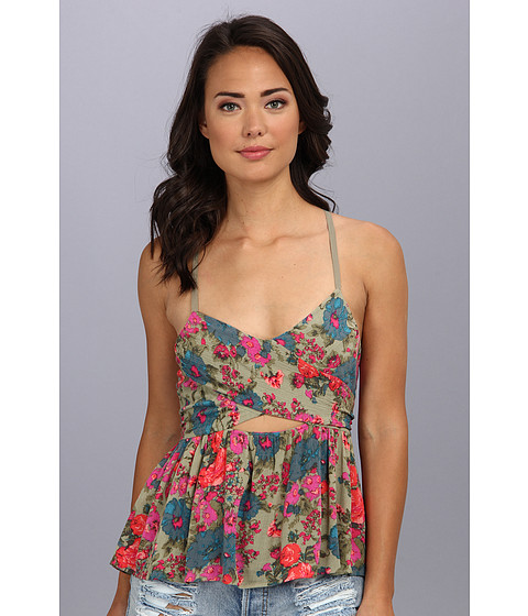 Bluze Free People - Some Like It Hot Top - Sage Combo