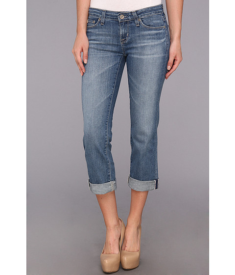 Blugi Big Star - Rikki Low Rise Relaxed Crop Jean in 16 Year Palms - 16 Year Palms