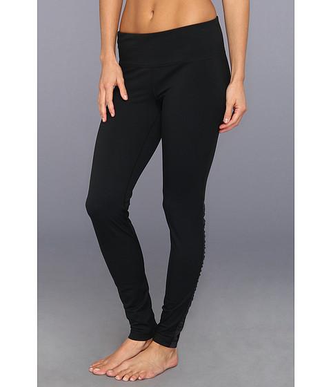 Pantaloni Under Armour - UA Perfect Stripe Legging - Black/Anthracite/Metallic Pewter