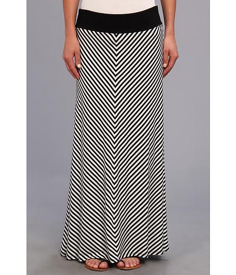 Fuste Karen Kane - Mitered Stripe Maxi Skirt - Stripe