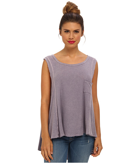 Bluze Free People - Beach House Tank Top - Lavendar Smoke