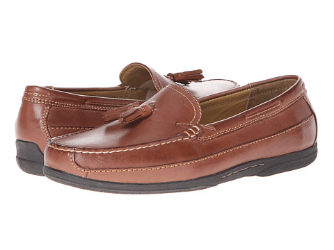 Pantofi Dockers - Schell - Tan Burnished Full Grain