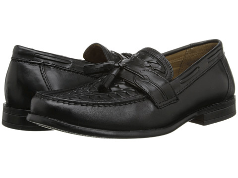 Pantofi Dockers - Stoddard - Black Burnished Full Grain