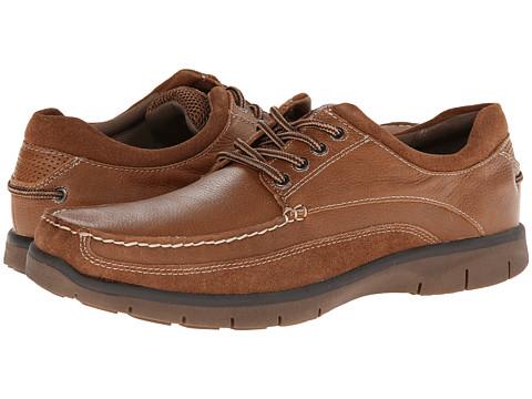 Pantofi Dockers - Jaffe - Dark Tan Tumbled Full Grain Leather