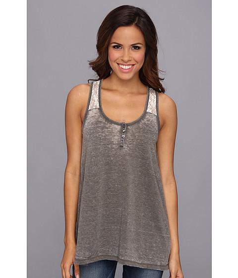 Bluze Stetson - 8984 Garment Burnout Tank - Green