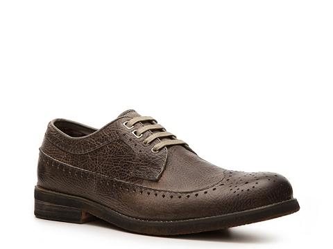 Pantofi Bed Stu - Beacon Wingtip Oxford - Grey
