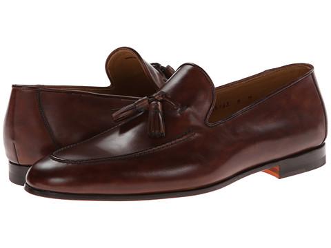 Pantofi Magnanni - Segura - Mid-Brown