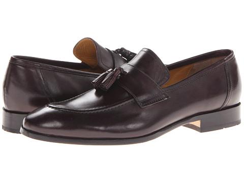Pantofi Johnston & Murphy - Kimball Tassel - Burgundy Italian Calfskin