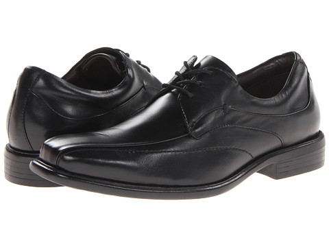 Pantofi Johnston & Murphy - Tilden Lace-Up - Black Smooth Calfskin