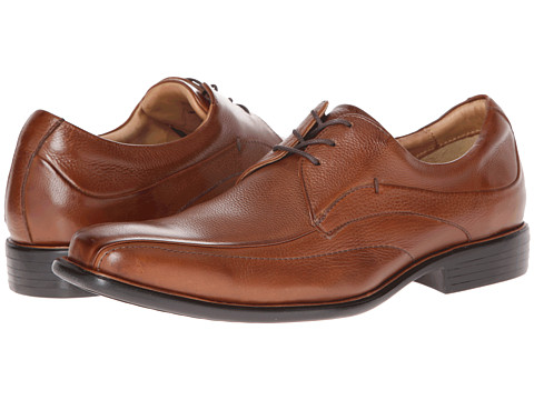 Pantofi Johnston & Murphy - Tilden Lace-Up - Tan Tumbled Calfskin
