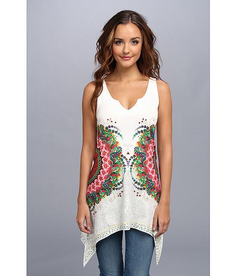 Bluze Desigual - Clyde T-Shirt - Blanco