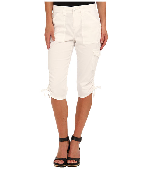 Pantaloni Jones New York - Kacie Side Tie Cargo - White Cloud