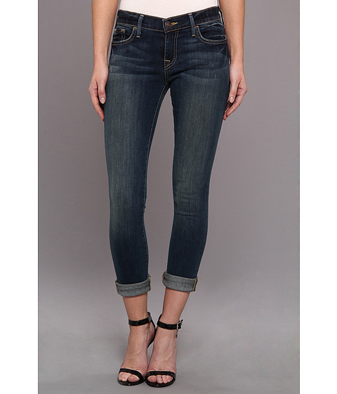 Blugi True Religion - Halle Super Skinny in Evening Shadow - Evening Shadow