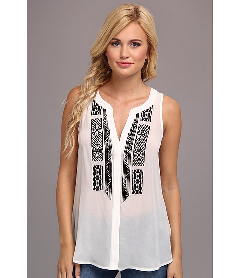 Bluze Sanctuary - Crafted Tank - White