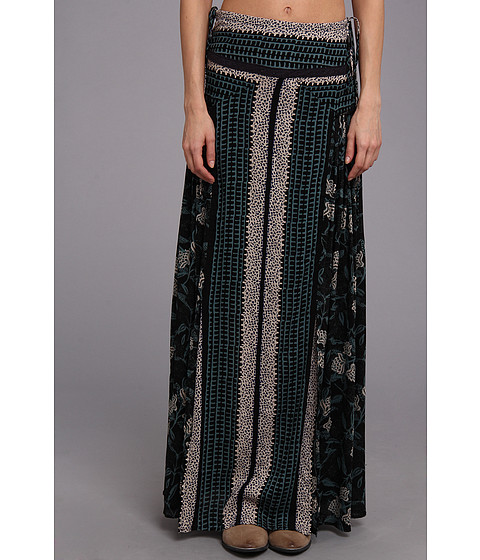 Fuste Free People - Squared Off Convertible Skirt - Midnight Combo