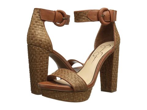 Pantofi Jessica Simpson - Kaelani - Lt Luggage Havanna Weave