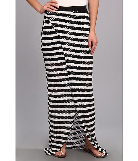 Fuste Tart - Samora Maxi - Black/White Stripe