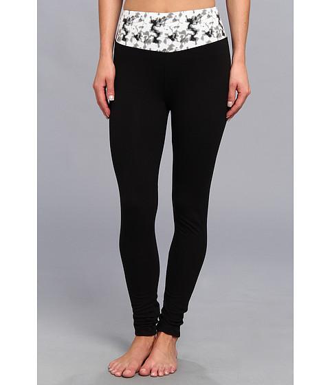 Pantaloni Steve Madden - Printed Waist Yoga Legging - Black