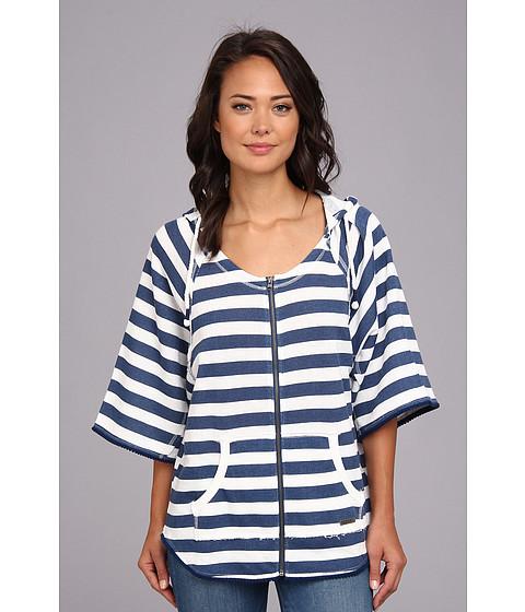 Bluze Roxy - Dream Walker Zip Fleece (Juniors) - Estate Blue Wide Stripe